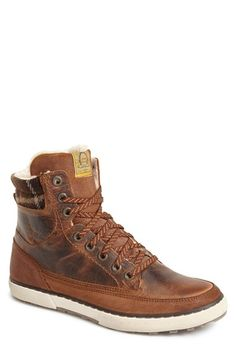 Free shipping and returns on Dune London 'Shearer' Boot (Men) at Nordstrom.com. A soft faux-fur lining insulates a versatile boot formed from rustic leather and features a plaid detail at the ankle.