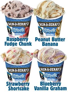 Ben and Jerry's finally came out with Greek frozen yogurt.  It's creamy and sweet but lacks that tart taste that Greek yogurt has. I hope they come out with more subtle flavors soon, flavors that don't sound like they were created at Coldstone Creamery.