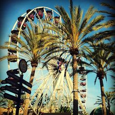 Irvine Spectrum Ferris Wheel..good view from the top.