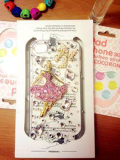Handmade Iphone Case Cover Little Dreaming Ballerina Girls ⑤