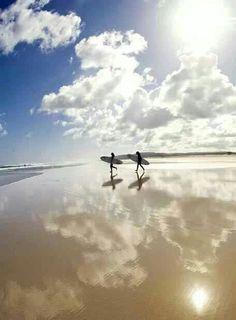 Playa Baldaio, Carballo, A Coruña, Galicia España