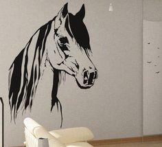 Horse 2 - uBer Decals Wall Decal Vinyl Decor Art Sticker Removable Mural Modern A359