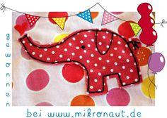 Polka Dot Elephant - Embroidery from mikronaut.de