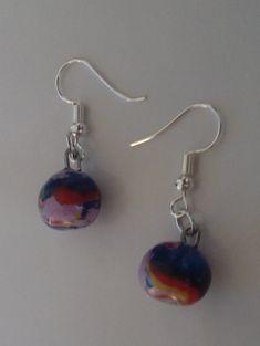 """Ohrringe """"paint"""" Ohrschmuck Community, Drop Earrings, Colour, Board, Jewelry, Earrings, Stud Earrings, Young Fashion, Ear Jewelry"""
