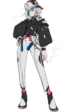 Female Character Design, Character Creation, Character Design Inspiration, Character Concept, Character Art, Concept Art, Cute Characters, Fantasy Characters, Tomboy Art