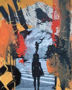 "Saatchi Art Artist Misha Dontsov; Painting, ""Manhattan"" #art"
