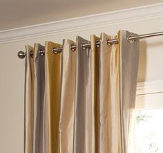 We offer a wide variety of pleats on our custom drapes including the French Pleat, Inverted Pleat and Cartridge Pleat Styles.