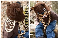 Ravelry: Canadian Justin The Beaver Hat - Crochet PDF Pattern pattern by Ira Rott