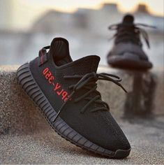 Black Red Yeezy Boost 350 Release Date. The adidas Yeezy Boost 350 in Core Black and Red brings back the back pull tab releasing Spring Baskets, Adidas Yeezy 350 V2, Moda Casual, Yeezy Shoes, Running Shoes For Men, Mens Running, Running Sneakers, Sneakers Fashion, Men's Sneakers