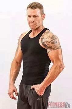 Max Martini for FitnessRx for Men - This guy... I'm dying!  I'm pretty sure my ovaries are toast @_@