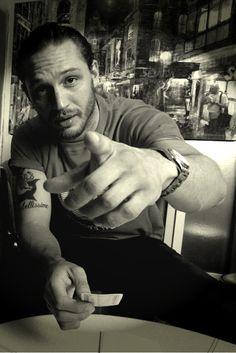 Tom Hardy... I'm doing as I'm told, I promise.