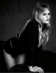 Photo Anna Ewers by Luigi & Iango for Vogue Germany March 2015