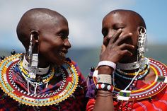 Masai women in Kenya