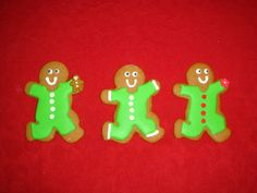 Gingerbread cookies on Facebook by Aunty Cookie's Sweet Treats