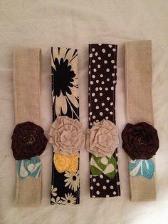 Headband Flower Wraps