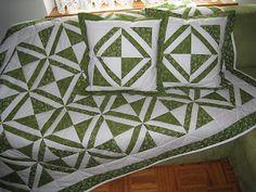 My first quilt ...