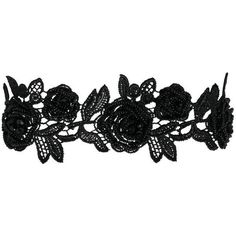 CHOKER NECKLACE Pieces (1.735 RUB) ❤ liked on Polyvore featuring jewelry, necklaces, flower choker, flower necklace, choker jewellery, choker jewelry and flower jewellery