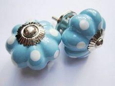 161 Porseleinen kastknop | Porseleinen knoppen | Porseleinen Knoppen