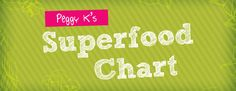 Download Peggy K's Superfood Chart