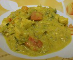 Rezept Gemüsecurry mit Putenwürfeln und Shirataki - Low Carb! von Yash - Rezept der Kategorie Hauptgerichte mit Fleisch