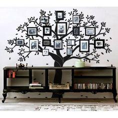 Viniles de arboles para Decoracion de interiores, tree wall decals photo family