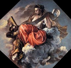 Titian - Wisdom - La Sagesse, v. 1560 Libreria Marciana. WGA22907 - Titien — Wikipédia