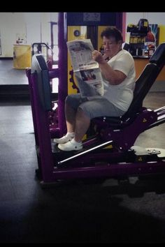 28 Things You Will Only See At Planet Fitness. Oh lord Jesus.