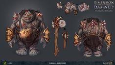 RuneScape - Hulking Zombie, Thomas Karlsson on ArtStation at https://www.artstation.com/artwork/oY5Ek