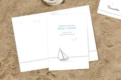 livret de messe mariage promesse par Marion Bizet by www.rosemood.fr #wedding #mariage #ceremony #mer #bateau