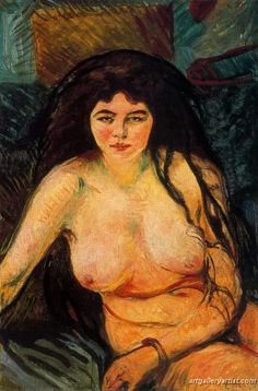 Edvard Munch - Seated Nude 1902