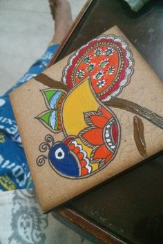 Madhubani Coaster is the making