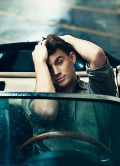 Channing Tatum. named sexiest man on earth. Yup. Got that one right world.