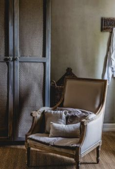 """This elegant chair is from our feature """"Renovation Rescue"""""""