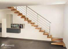 escaleras de diseo escaleras para interior de la firma italiana marretti escaleras en voladizo
