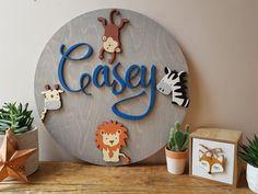 Nursery Decor-Nursery Name Sign-Nursery Wall Art-Wooden Nursery Letters, Nursery Name, Nursery Signs, Nursery Wall Art, Wooden Name Signs, Custom Wood Signs, Wooden Letters, Baby Boy Nursery Decor, Wood Wall Decor