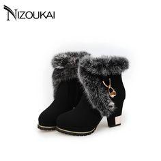 Chaussures femme Sexy femmes mode hiver Femme Sexy 562dc8a22bd