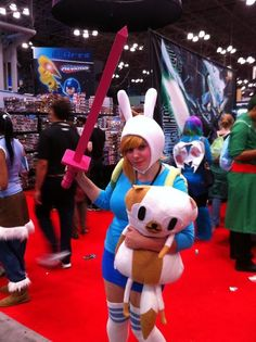 Fionna from Adventure Time.
