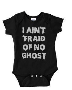 Funny Onesie  Baby Halloween Costume Ghostbusters by MyBabyLuxe, $14.00