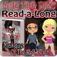 Masque of the Red Death by Bethany Griffin May Read-a-Long SIGN-UP! Tackle your TBR pile with friends & have some fun! #books #ya #dystopia #read-a-long