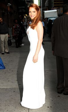 Jessica Chastain – 2014-10-16 – arriving at the 'Late Show with David Letterman' in New York (no. 3681)
