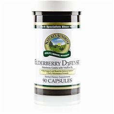 Elderberry D3fense - Nature's Sunshine Products Elderberry is better than Echinacea for O blood type.