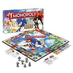 MONOPOLY: Sonic the Hedgehog Collector's Edition | Official Sonic The Hedgehog Toys