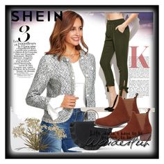 """shein 4"" by aida-1999 ❤ liked on Polyvore"