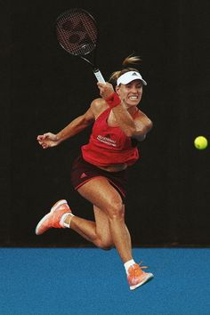 Angelique Kerber | 2018 Sydney International 1R Tennis Tips, Sport Tennis, Golf Tips, Angelique Kerber, Us Open, Australian Open, Wimbledon, Angie Kerber, Foto Sport