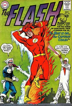 The Flash #140 - DC Comics - Carmine Infantino art - Captain Cold & Heat Wave just portrayed on the TV series! Actors from Prison Break get back together as the iconic Flash villains!