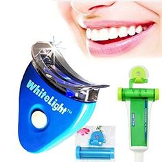 Teeth Whitening Fine Dental Tooth Teeth Cleaner Whitener System Whitelight Gel Kit Set * Hurry! Check out this great product : Teeth Whitening