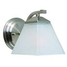 60W Electroplated Wall Light with 1 Light
