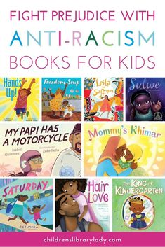 Conservations about race need to start early and continue throughout a child's life. Support the fight against prejudice with these wonderful anti-racism books. They are suitable for children of different ages and with different levels of understanding of racism. Library Organization, Levels Of Understanding, Mentor Texts, Fiction And Nonfiction, Children's Library, Library Ideas, Anti Racism, Character Education, Parenting Books
