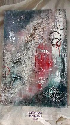 Διακοσμητικός χειροποίητος πίνακας, φτιαγμένος με μεικτές τεχνικές και οικολογικά υλικά σκλήρυνσης Powertex   Διαστάσεις: 60X40   Κωδικός Νο: 79 Mixed Media Art, Abstract, Painting, Art, Summary, Painting Art, Mixed Media, Paintings, Painted Canvas