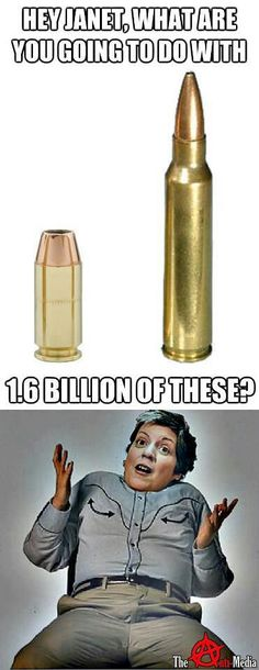 The DHS has stockpiled 1.6 billion armour piercing rounds....for what? We the people.